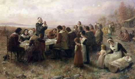 Spanish sailors were actually first to celebrate Thanksgiving
