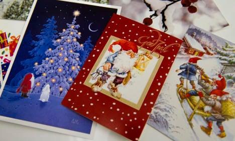 Swedish inmates demand: We want to make Christmas cards