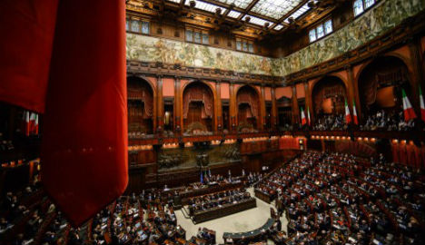 Italian lawmakers vote through Brussels-baiting budget