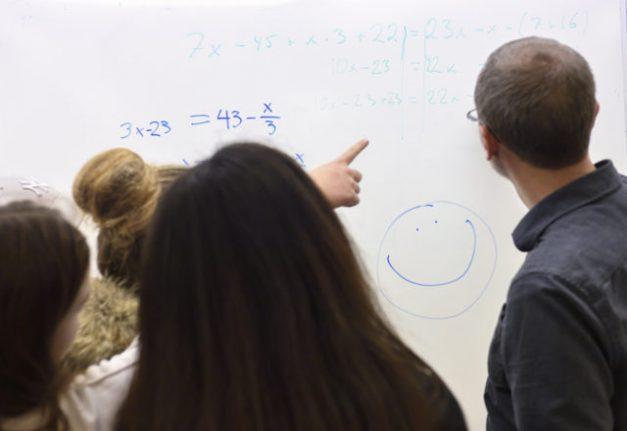 Sweden recovers in global school rankings