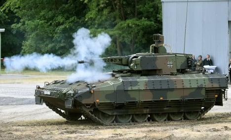 Germany bucks global trend, sells more weapons