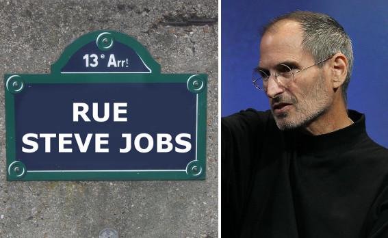Paris says no to 'Rue Steve Jobs'