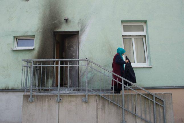 Police detain man suspected of bombing Dresden mosque