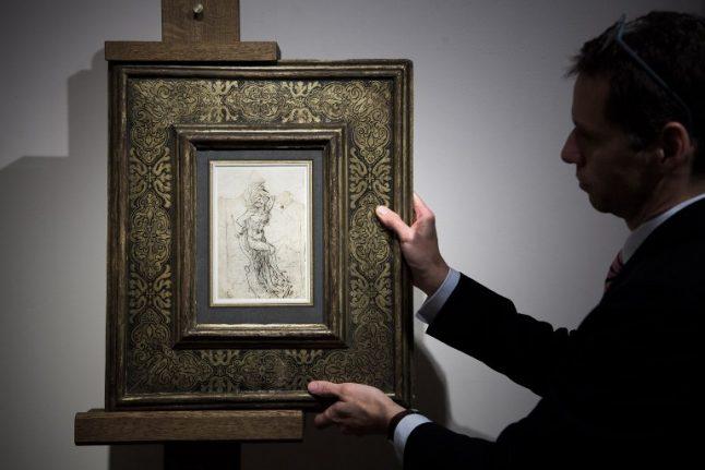 Lost Da Vinci sketch 'worth €15 million' found in France