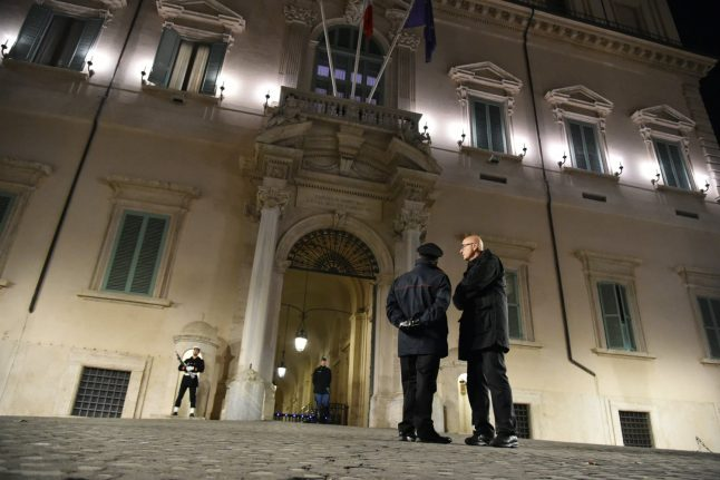 Race for new Italy government enters final stage