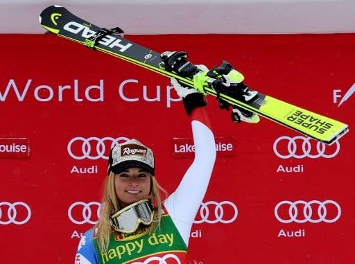 Swiss champ Gut wins season's first super-G in Canada