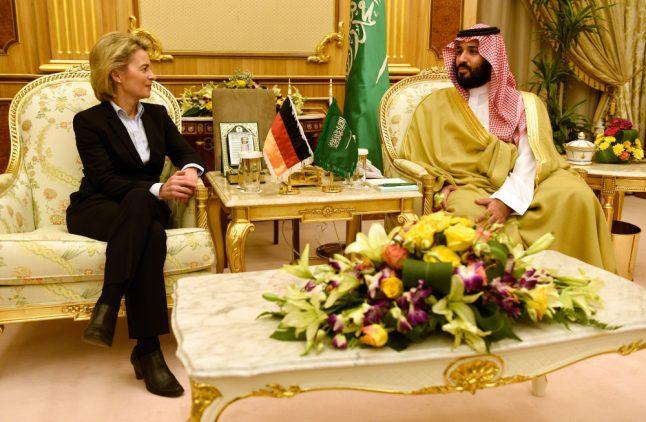 Opposition parties condemn German defence plan with Saudi Arabia