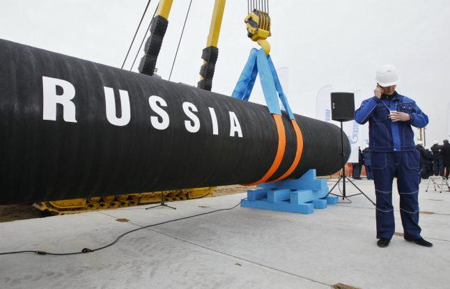 Russian pipeline creates uncertainty on Swedish island