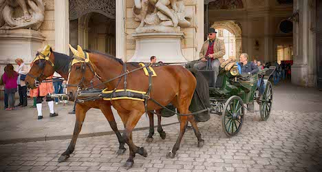Fiaker horse carriages apply for UNESCO status