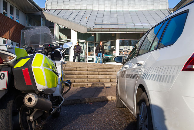 Shot Danish police officer dies