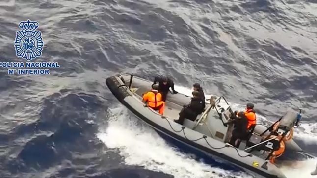 Police seize 2,500kg of cocaine headed for Spain