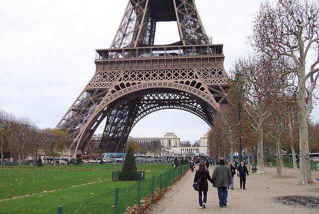 Eiffel Tower opens again after five days of strike action