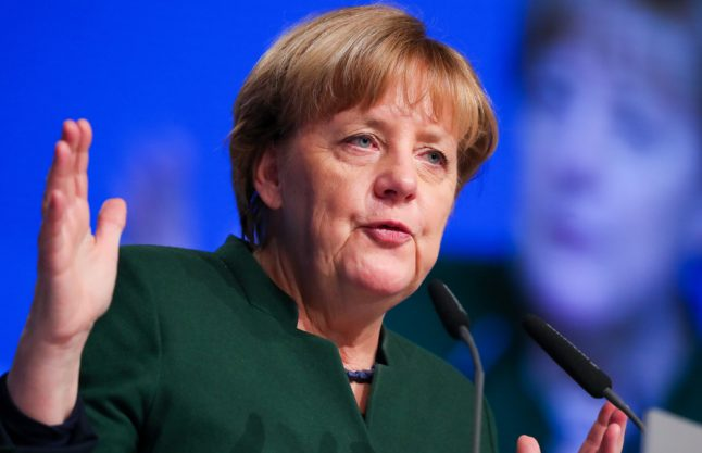 Merkel urges Germans to stick to facts on refugee crime