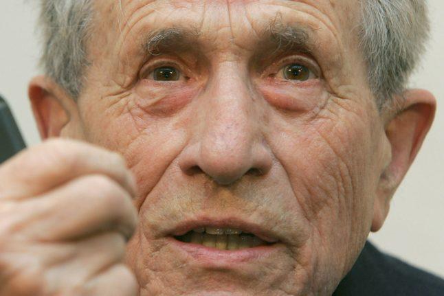 Nazi camp cash counterfeiter Adolf Burger dies at 99