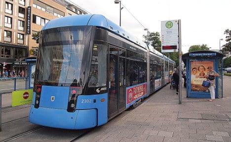 Munich police under fire after mass arrest at tram stop