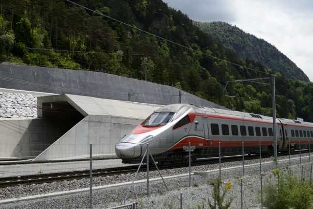 World's longest tunnel opens regular service in Switzerland