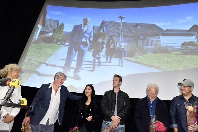 Swedish curmudgeon makes Oscar shortlist
