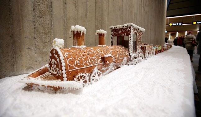 Norwegians set world record for longest gingerbread train – again!