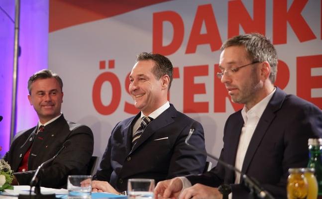 Austria's far-right puts brave face on election defeat