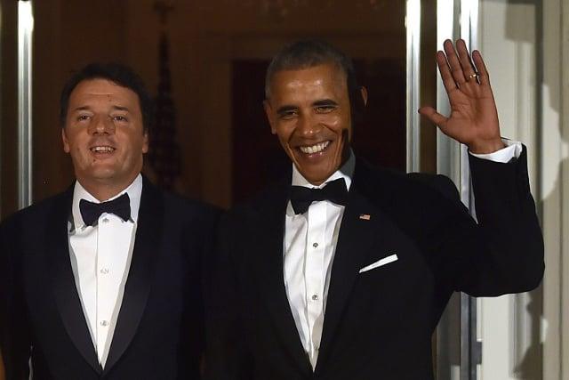 Obama has called Renzi to thank him for 'close partnership'