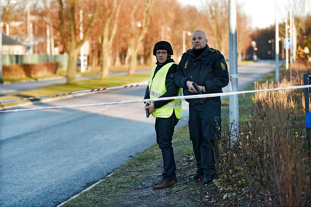 Officer shot in the head at Danish police station