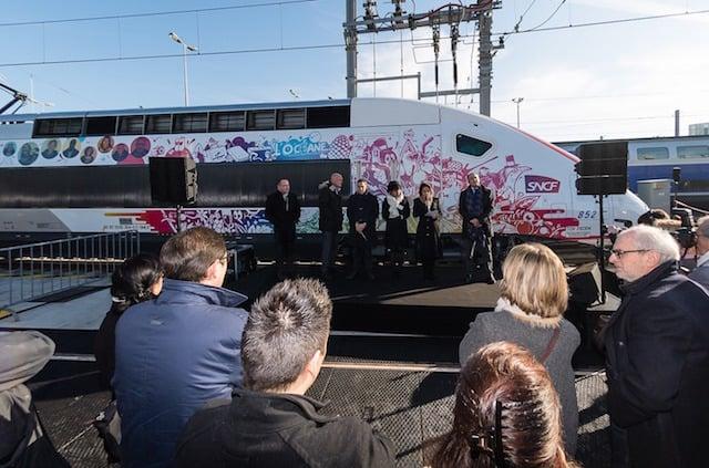 Super-fast TGV train hits the rails, slashing journey times