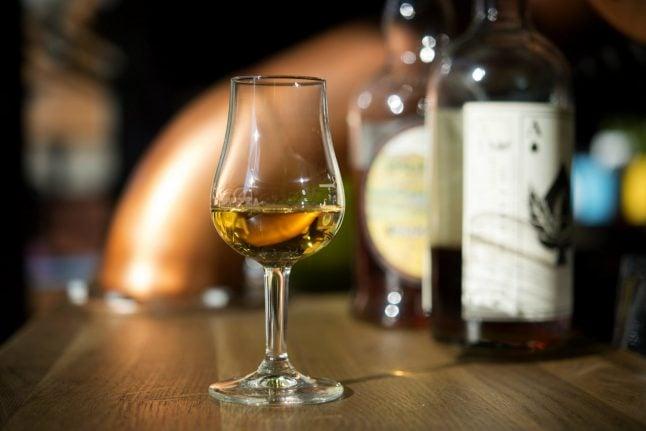 Expensive Scotch breaks Swedish record