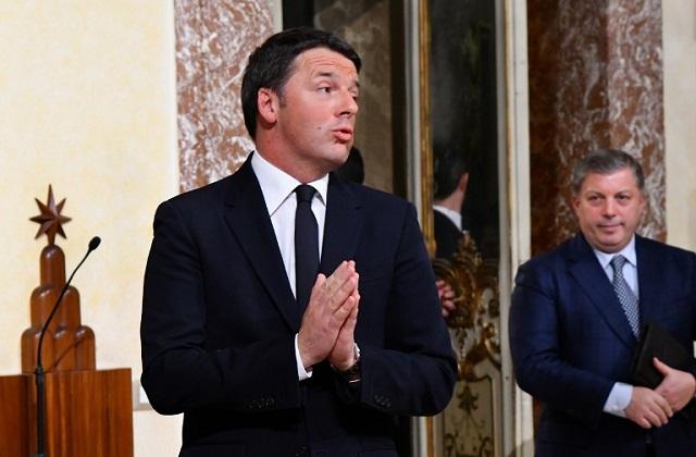 Italy's Renzi admits referendum mistakes