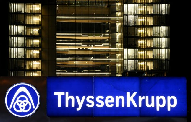 Industrial giant ThyssenKrupp hit by 'massive cyber attack'