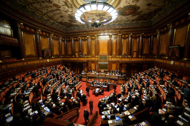 Italy's senate to vote on 2017 budget on Wednesday