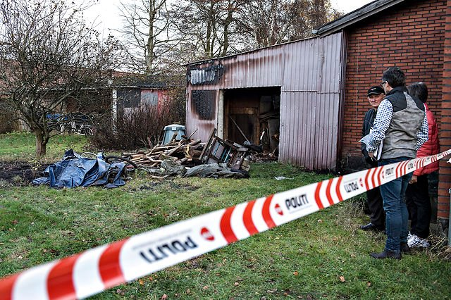 Danish arsonist done in by his need to masturbate