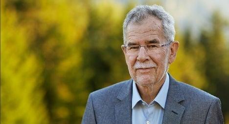 Former Green vies for Austria's presidency