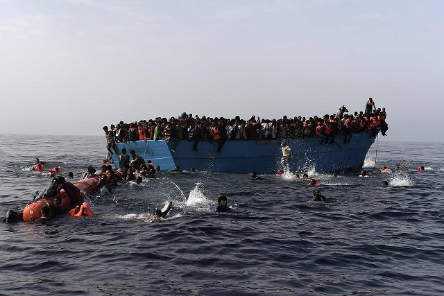 How Italy's tireless coastguard responded to busiest ever migrant year
