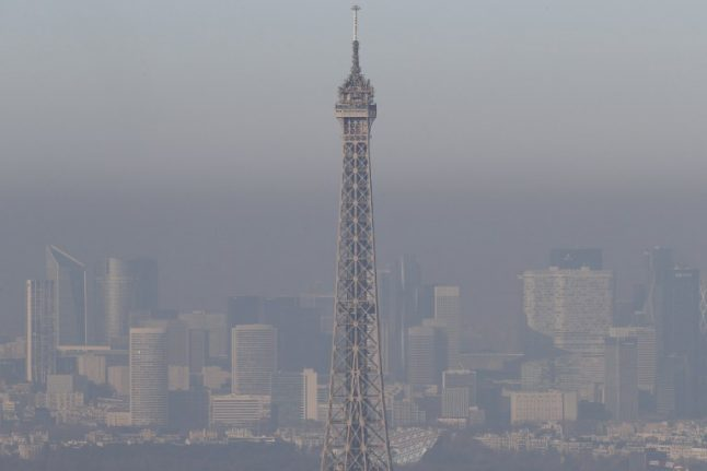 IN PICTURES: See Paris cloaked in smog as air pollution spikes
