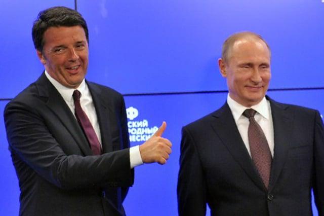 Kremlin praises Italy's Renzi for boosting bilateral ties