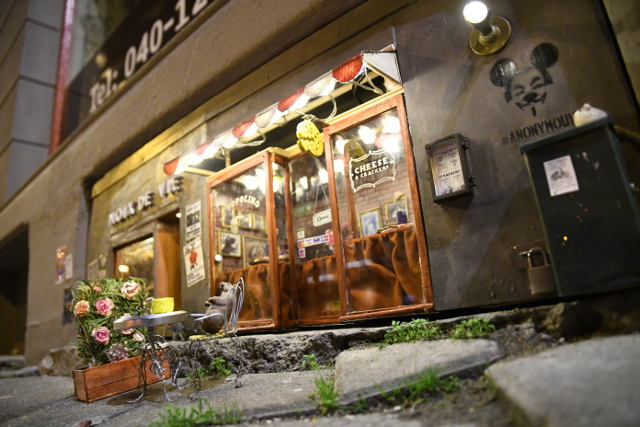 VIDEO: Watch what happened when a real mouse visited Sweden's world-famous mouse restaurant