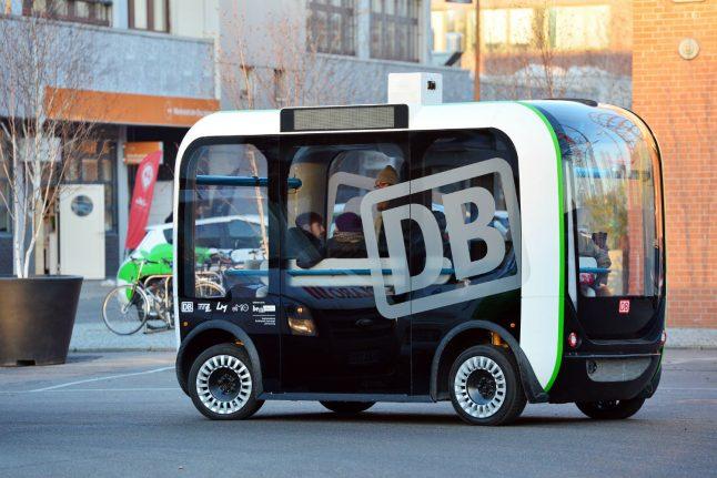 Driverless bus 'Olli' undergoes testing in Berlin