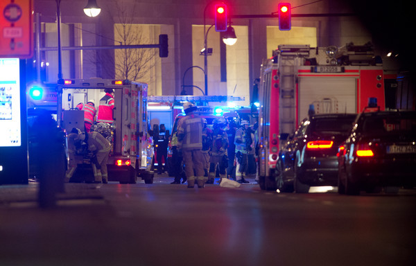 LIVE: Twelve dead as truck hits Berlin Christmas market in 'probable terrorist attack'