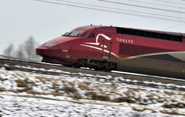 Fire on Paris-Brussels line halts rail services