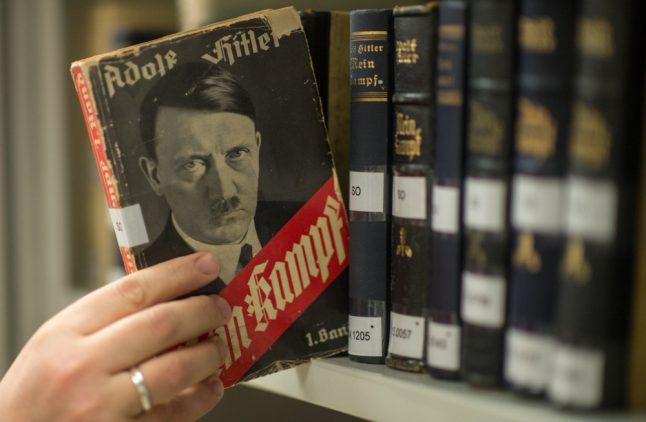 Hitler's 'Mein Kampf' becomes German bestseller year after reprint