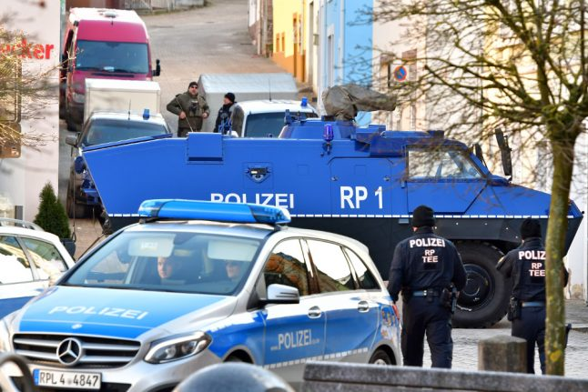 Police seize 100kg of explosives from teen 'plotting right-wing attack'