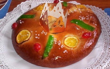 El Corte Inglés has hidden gold ingots inside traditional Roscón cakes