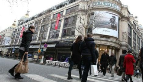 Paris department stores finally open on Sundays