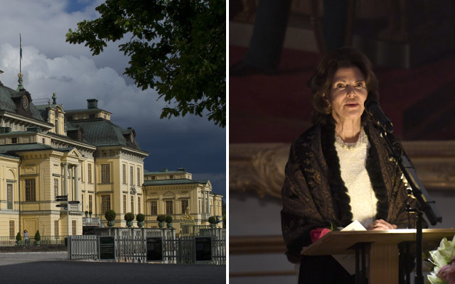 Swedish royal palace is haunted, Queen Silvia says