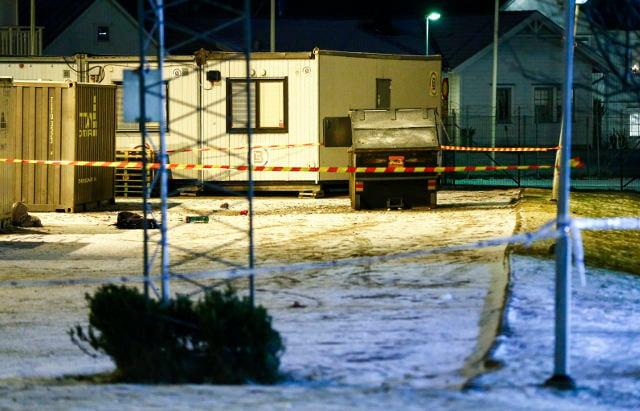 Man injured after trash blows up in Gothenburg
