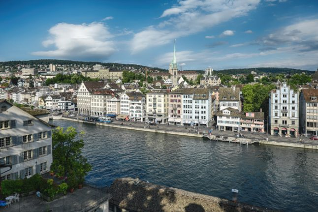 Woman dies after falling from Zurich hotel