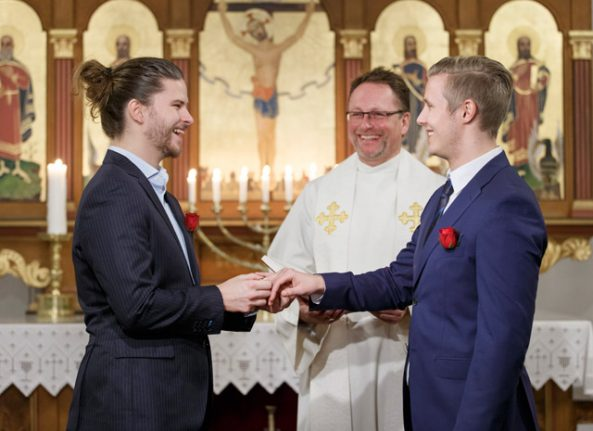 Gays now free to wed in Norway's Lutheran Church