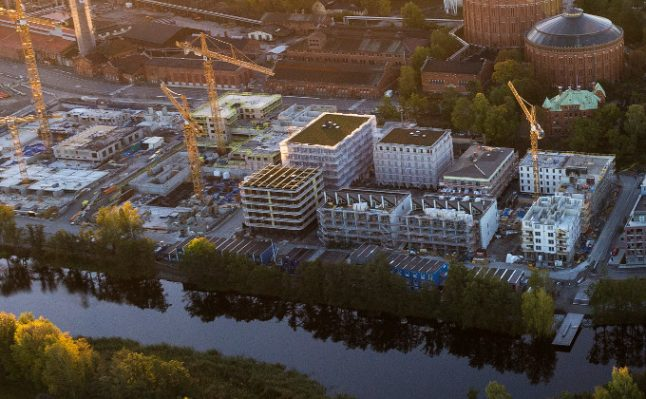 Yes, housing construction in Stockholm is booming