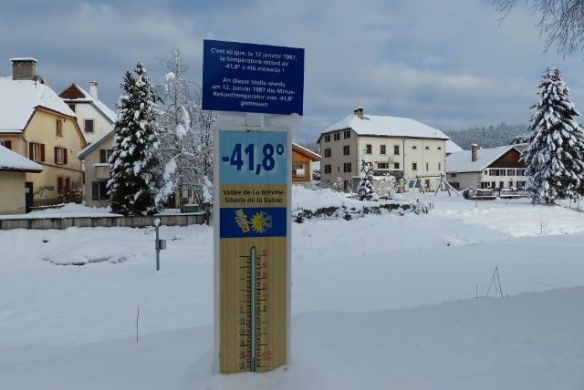 Switzerland freezes in coldest night of winter so far