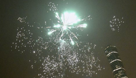 Swedish police brave rockets, grenade and axeman on NYE